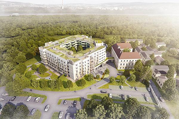 Neubau Alten- und Pflegeheim Kritzendorf der Barmherzigen Brüder