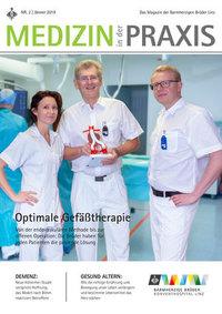 Cover der aktuellen Ausgabe 'Medizin in der Praxis'